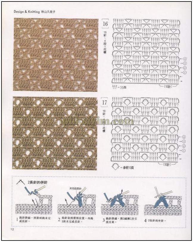 Вязание рисунком для начинающих на спицах с описанием