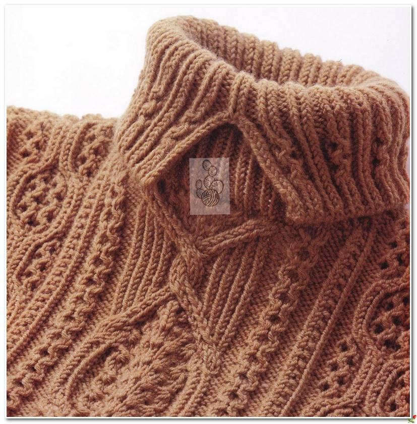 Женское вязание спицами в блогах